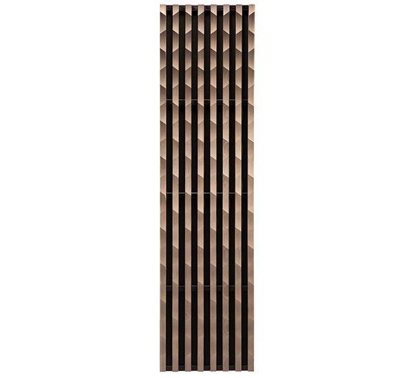 laudescher panneau bois acoustique linea 3D scale