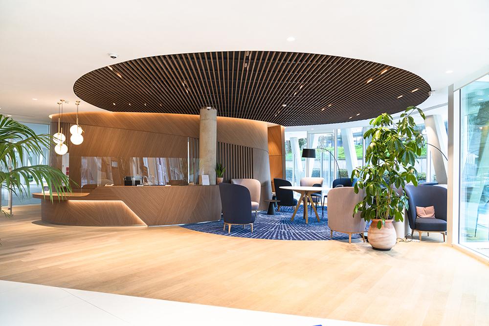 laudescher réalisation plafond bois convergence