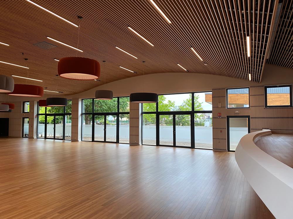 laudescher réalisation plafond bois courbe
